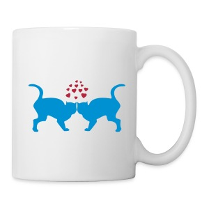 Cats in love mug - Tasse