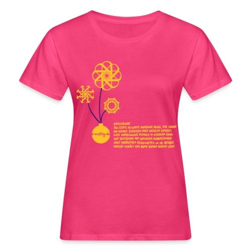 Sinas PinkSeedbomb - Frauen Bio-T-Shirt
