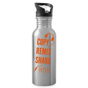 copy remix share - Trinkflasche