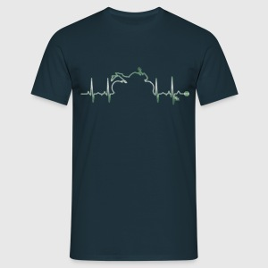 heart bike 3 by DK Tee shirts - T-shirt Homme