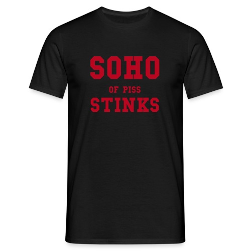 Soho Stinks Black - Men's T-Shirt
