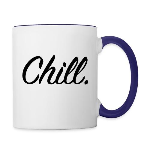Chill - Contrast Mug - Contrasting Mug