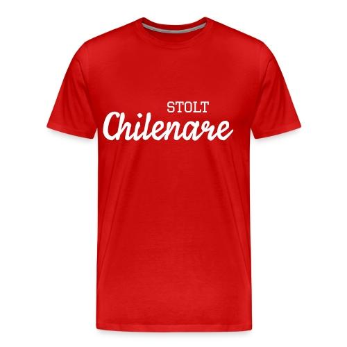Stolt Chilenare - Premium-T-shirt herr