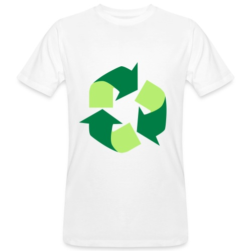 Recycle T-Shirt - T-Shirt Recyclage - T-shirt bio Homme