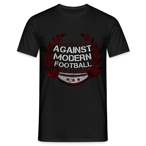 Red Against Modern Football - T-Shirt  - Männer T-Shirt