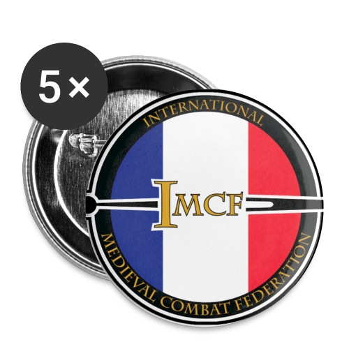 Badge IMCF FRANCE - Badge petit 25 mm
