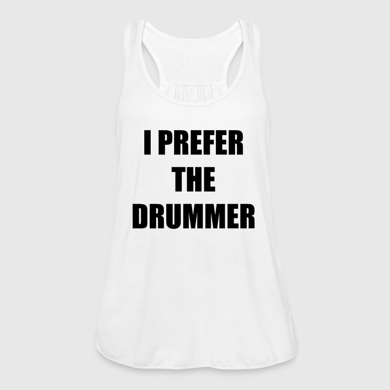 I prefer the drummer Tops - Frauen Tank Top von Bella