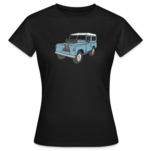 Landy Land Rover Series2a 4x4 Off-Road T-shirts - Vrouwen T-shirt
