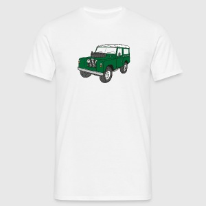Landy Land Rover Defender Series Jeep T-shirts - Mannen T-shirt