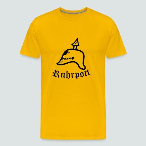 Ruhrpott Pickelhabe T-Shirt Herren - Männer Premium T-Shirt
