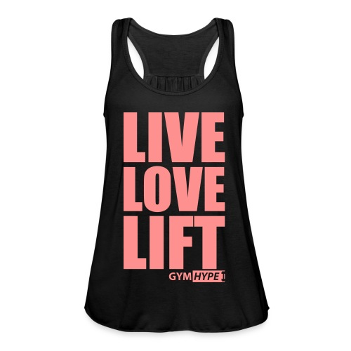 Women's Live Love Lift Racerback Vest - Women's Tank Top by Bella