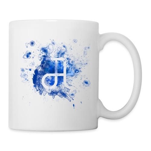 Tasse Glyphe Blau  - Tasse