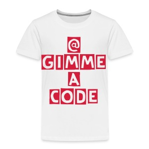 GimmeACode Twitter Handle - Kids' Premium T-Shirt