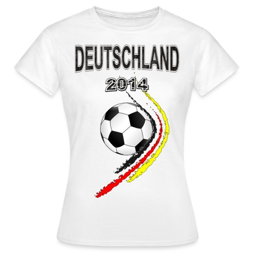 Fußball Fan T-shirt Ladies - Frauen T-Shirt