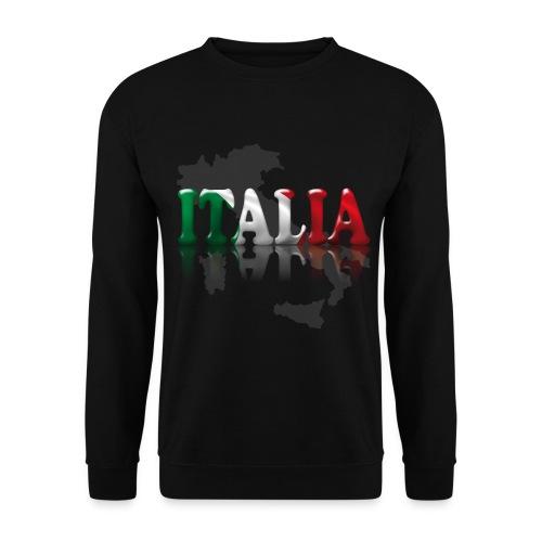 Felpa Italia nera - Felpa da uomo