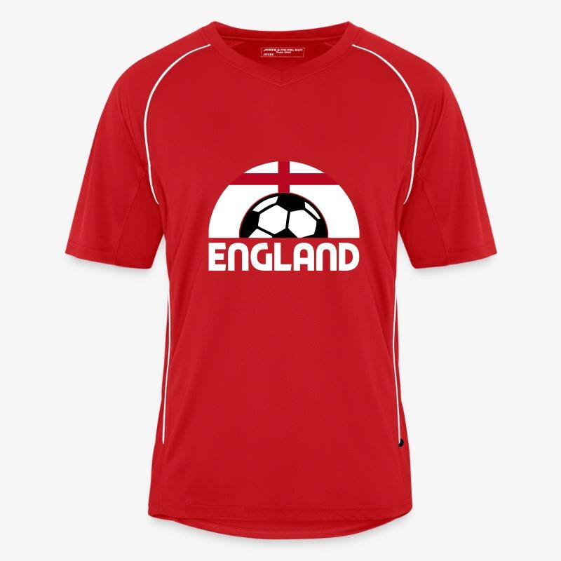 england - Men's Football Jersey