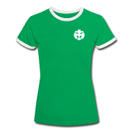 T-Shirts ~ Frauen Kontrast-T-Shirt ~ Mädels T-Shirt SuperScout