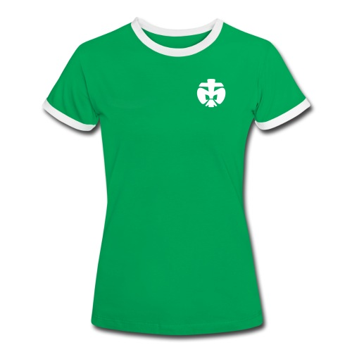 Mädels T-Shirt SuperScout - Frauen Kontrast-T-Shirt