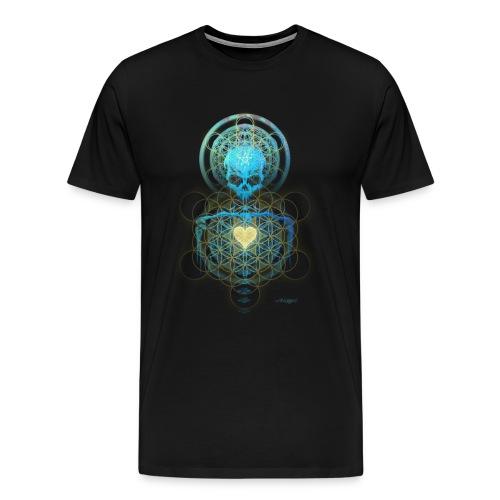 Visionary Skull Shirt - Men's Premium T-Shirt