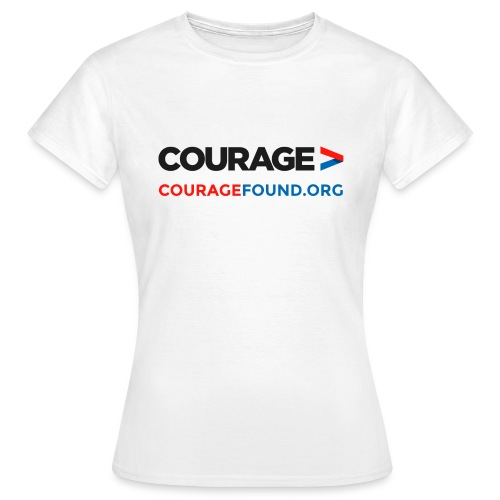 Courage Women's T-Shirt (white) - Women's T-Shirt