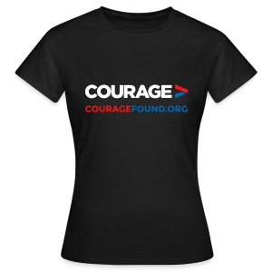 Courage Women's T-Shirt (black/colour) - Women's T-Shirt