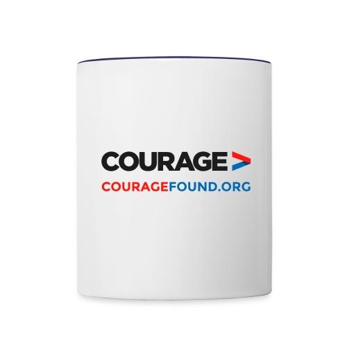Courage Mug - Contrasting Mug