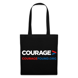 Courage Tote Bag - Tote Bag