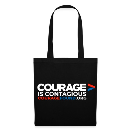Courage is Contagious Tote Bag - Tote Bag