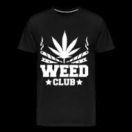 Tee shirts ~ T-shirt Premium Homme ~ Weed club