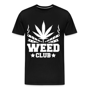 Weed club - T-shirt Premium Homme