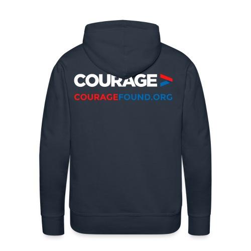 Courage Men's Hoodie - Men's Premium Hoodie