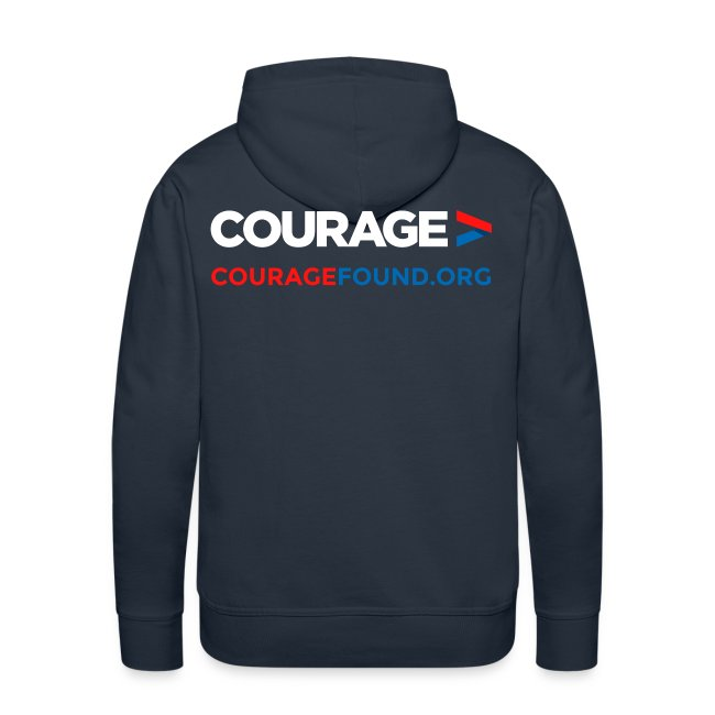 Courage Men's Hoodie
