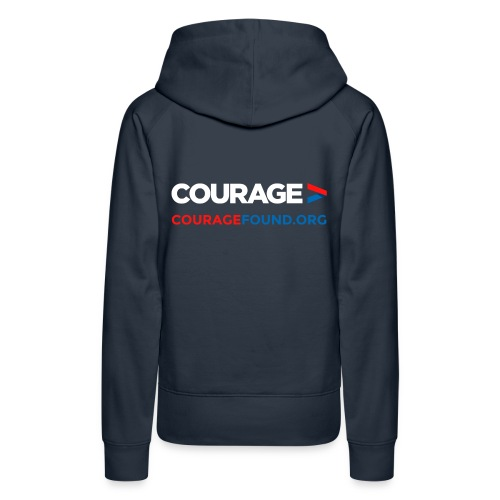 Courage Women's Hoodie - Women's Premium Hoodie