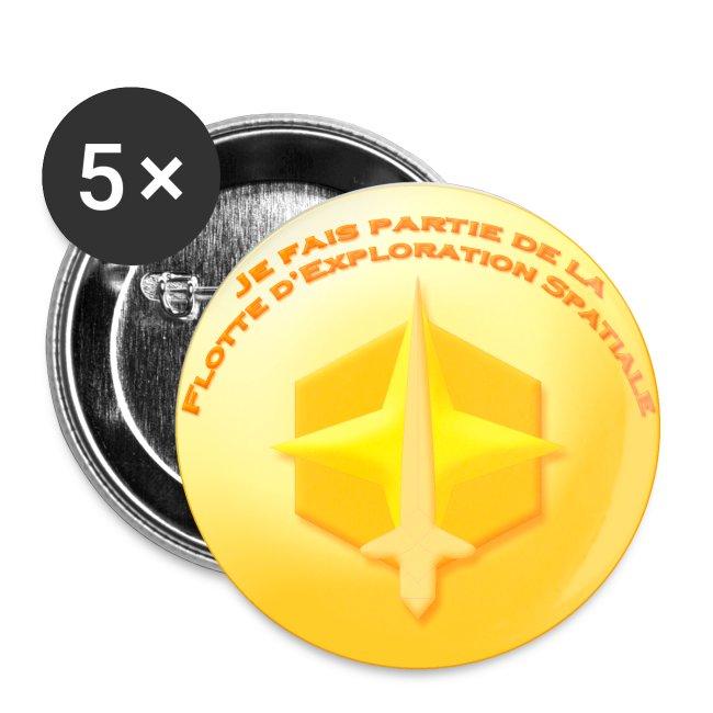 Badge Flotte d'Exploration Spatiale