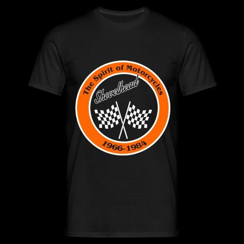 Zielflagge Shovelhead - Männer T-Shirt