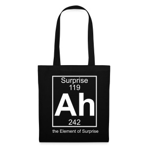 Ah, the Element of Surprise - Tote Bag