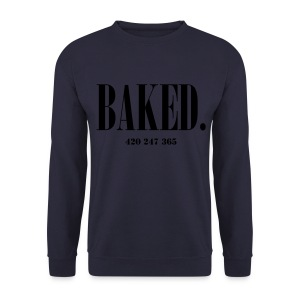 BAKED 420/247/365 MEN - Men's Sweatshirt