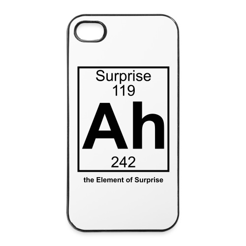 Ah, the Element of Surprise - iPhone 4/4s Hard Case