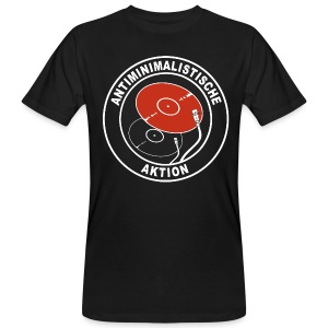 Antiminimalistische Aktion SHIRT MEN BIO - Männer Bio-T-Shirt