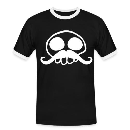 TETE DE MORT - T-shirt contrasté Homme