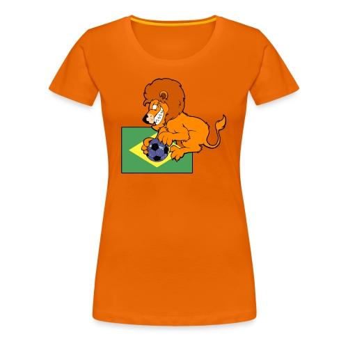 Holland WK Brazilie - Vrouwen Premium T-shirt