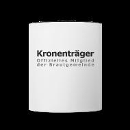Tassen & Zubehör ~ Tasse zweifarbig ~ Kronenträger-Tasse