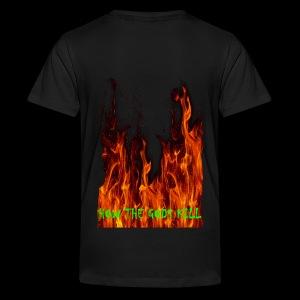 How the Gods kill Teeny (F+B) - Teenager Premium T-Shirt