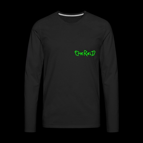 Schriftzug klein - Männer Premium Langarmshirt