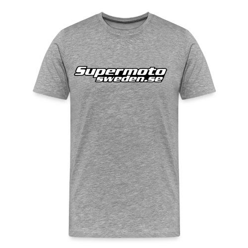 Supermotosweden supporter tee chest - Premium-T-shirt herr