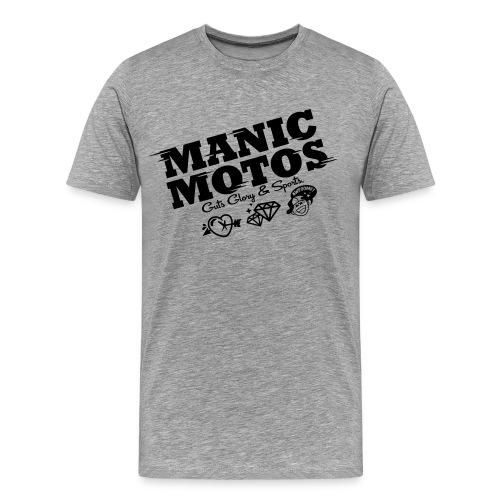 Supermotosweden Team Manicmotos Supporter Tee - Premium-T-shirt herr