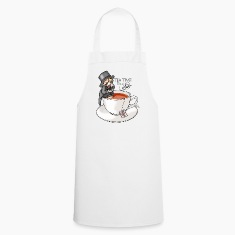 White tea time like a Sir with Earl Grey (text)  Aprons