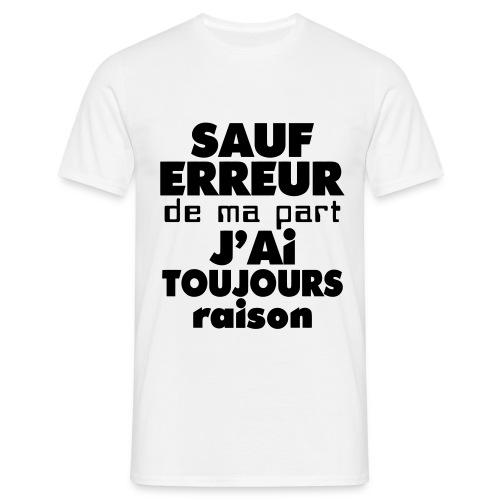 T-Shirt Humour Homme - T-shirt Homme