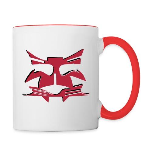 Preme red Pot - Tasse zweifarbig