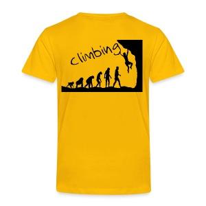 Climbing - Kinder Premium T-Shirt